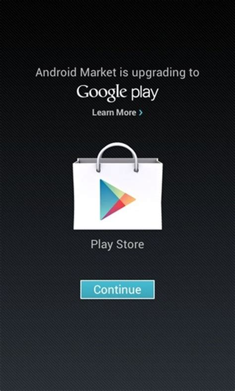 how to play on android play store apk the rebranded android market now