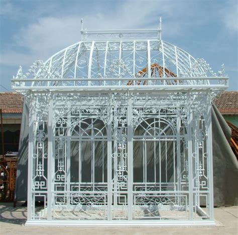 Iron Gazebo Large Cast Iron Cast Iron Gazebo G7 Ebay