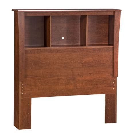 bookcase headboard twin south shore moon twin bookcase headboard classic cherry