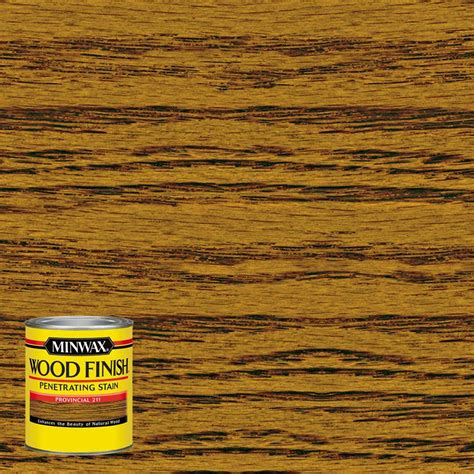 Home Depot Wood Doors Interior minwax 8 oz wood finish provincial oil based interior
