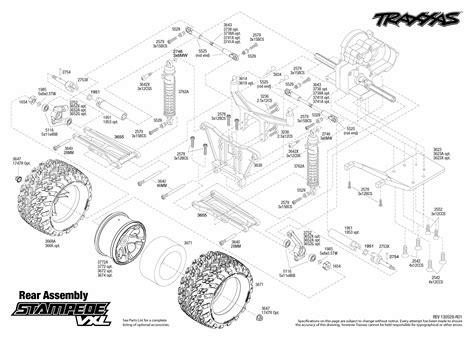 traxxas rustler parts diagram archives