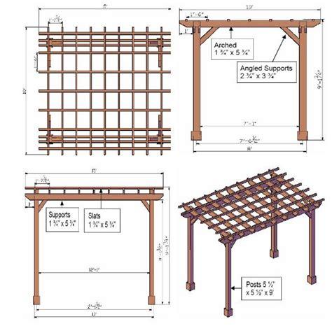 build planner 17 best ideas about pergola plans on pinterest pergola