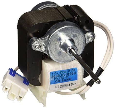 lg refrigerator condenser fan motor lg electronics 4680jb1026h refrigerator condenser