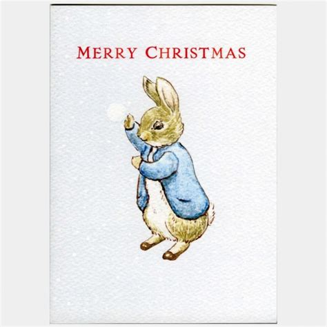 libro peter rabbit a christmas peter rabbit merry christmas card beatrix potter shop