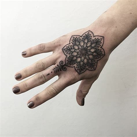 mandala flor by sashatattooing tatuajes para