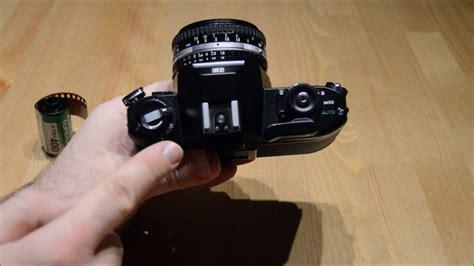 nikon em slr mm film camera tutorial  cameras