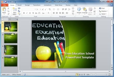 Best Educational Powerpoint Templates Free Powerpoint Templates Education