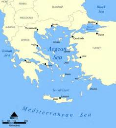 Aegean Sea On World Map by Aegean Sea Wikiwand