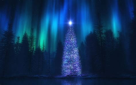 song of the sky art christmas tree fantasy light show
