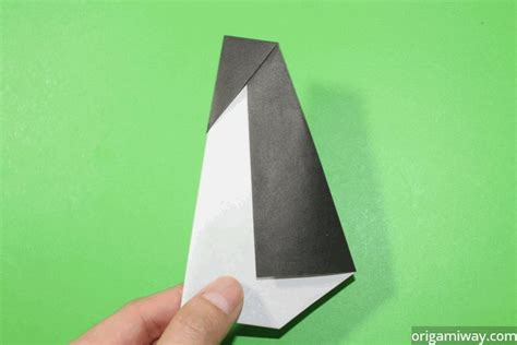 Origami With 8 5x11 Paper - easy origami penguin