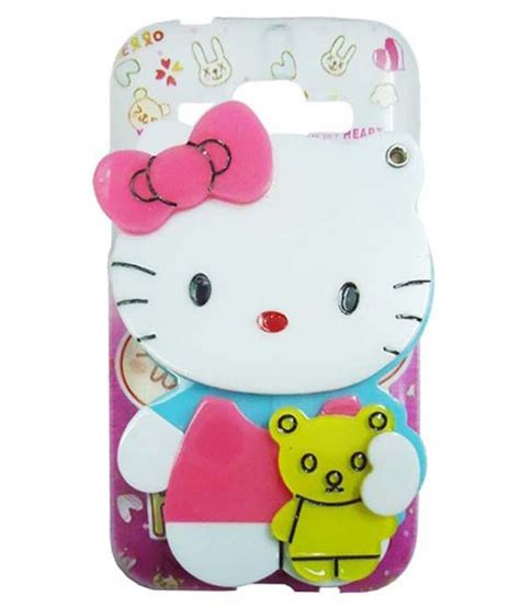 hello kitty wallpaper samsung j1 l p hello kitty green pink with bow back cover for samsung