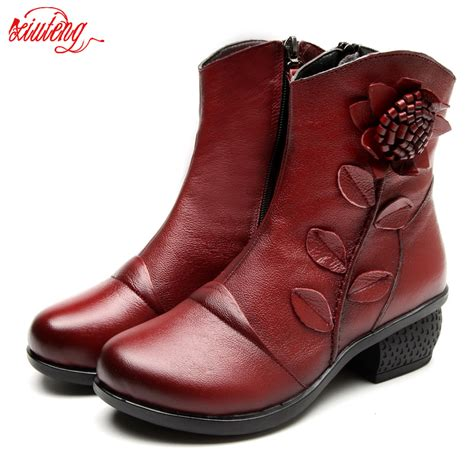 boots shoes handmade vintage genuine leather