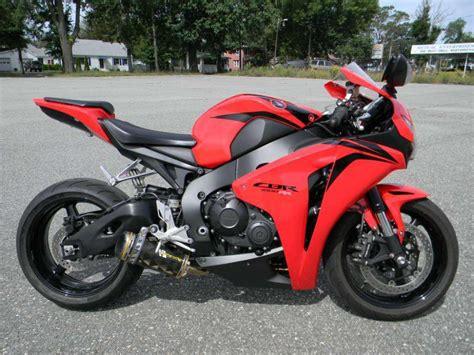 honda cbr1000rr for sale 2008 honda cbr1000rr sportbike for sale on 2040 motos