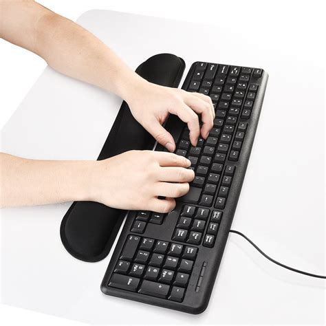 Keyboard Wrist Rest Pad and Mouse Wrist Rest Support Soft ... Mouse And Keyboard Support
