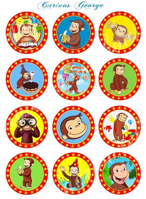 Curious George Stickers