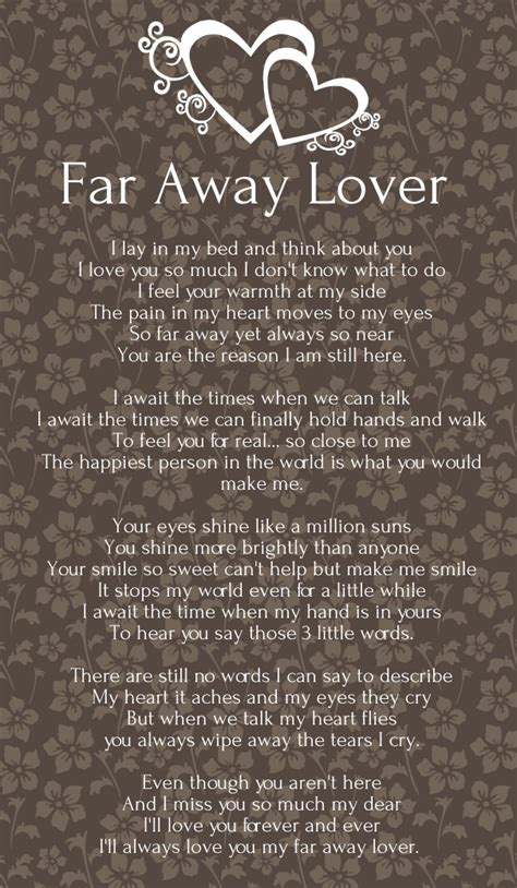 valentines message for distance relationship poems for distance poems for