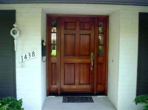 6 panel front door with sidelights 1000 images about front doors on traditional