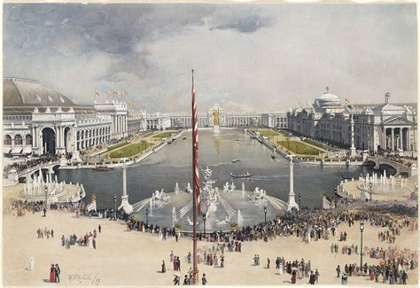 1893 chicago columbian exposition the ferris wheel