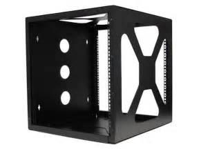 startech 10u 19in wall mount side mount open frame