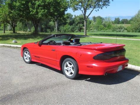 1996 Pontiac Trans Am For Sale Sell Used 1996 Pontiac Trans Am Convertible In Englewood