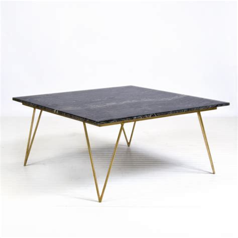 Black Marble Coffee Table Worlds Away Neal Gold Leafed Coffee Table With Black