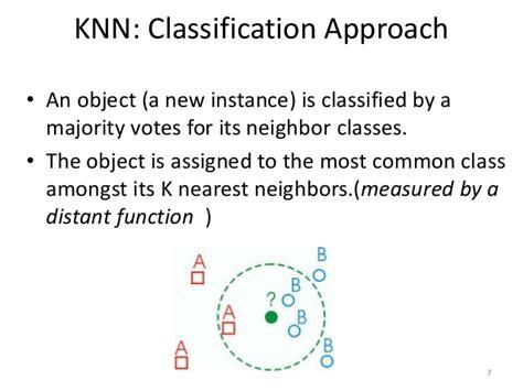 nearest neighbor pattern classification techniques k nearest neighbors