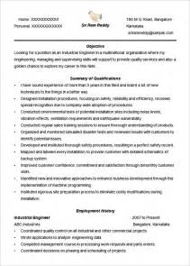 Professional Engineer Cv Template by Cv Templates 61 Free Sles Exles Format