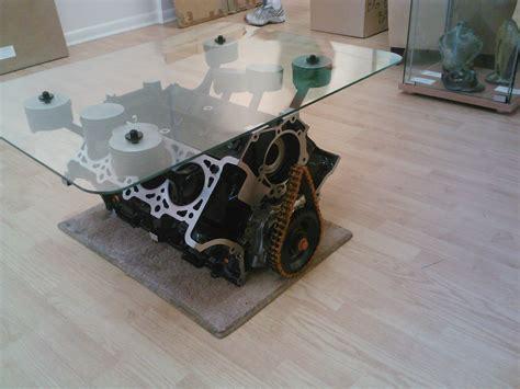 engine coffee table by greg melartin