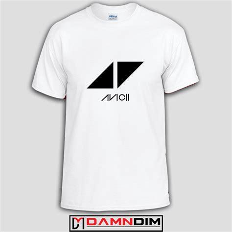T Shirt Avicii Black avicii dj logo custom tshirts and unisex tshirt