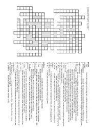 printable london puzzle english worksheets crossword london