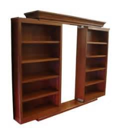 sliding secret bookcase door stashvault