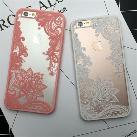vintage lace flower clear cover  iphone xpressebuy