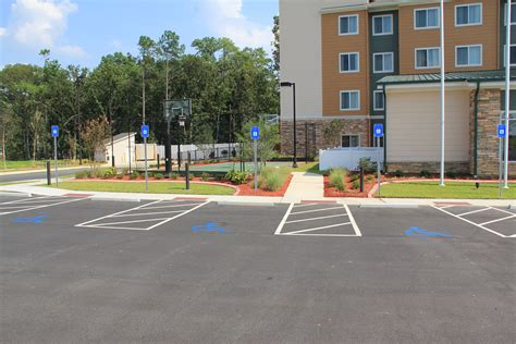 new construction hotel landscaping in augusta ga