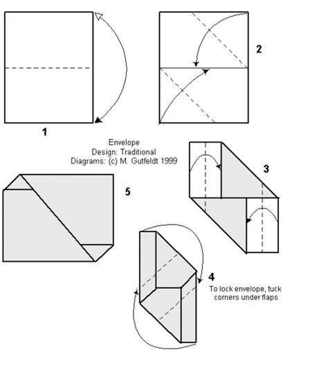 how to fold paper for envelope ikuzo origami