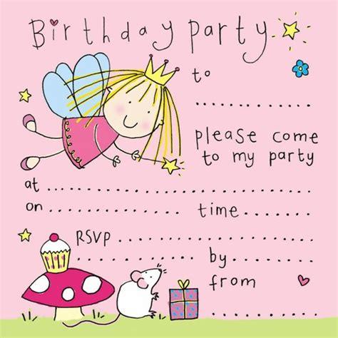 download printable birthday invitations free printable fairy birthday party invitation free