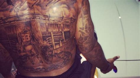lsu tattoos hill and tiger stadium will now geaux everywhere
