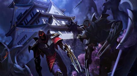 wallpaper hd zed zed league of legends wallpaper zed desktop wallpaper