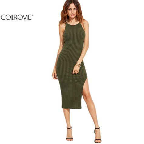 fashion brands message for fall shoppers buy less colrovie women sexy bodycon cami dress winter autumn 2017