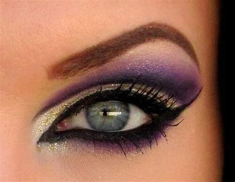 dramatic purple eyeshadow dramatic purple eyeshadow eye makeup pinterest