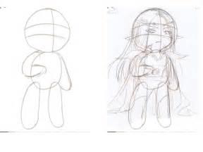 aiseru no sekai tutorial how to draw chibi