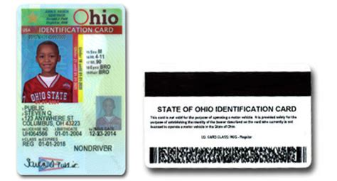 ohio id card template id r ohio id for children the voice of ohio