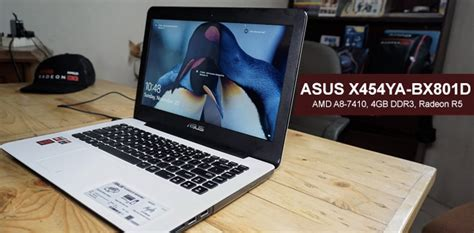 Spek Dan Laptop Asus Amd asus x454ya bx801d laptop gaming murah dengan amd a8