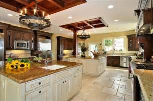 In House Kitchen Design by Best Application Of Large Kitchen Designs Ideas My