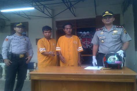 Alarm Motor Di Palembang 2 remaja di palembang begal motor kuli bangunan