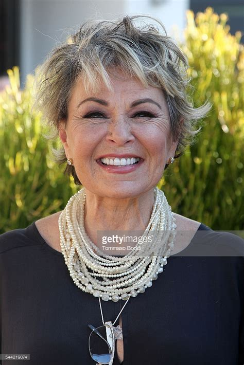 Short haircut   Roseanne Barr 2017   Hairstyle: Short