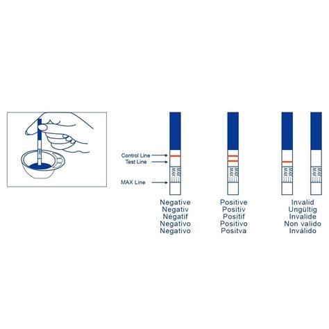 test ovulazione on line clearblue test di ovulazione digitale 10 stick 2 test