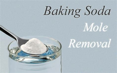 baking soda tattoo removal baking soda for skin mole removal how to use it diy