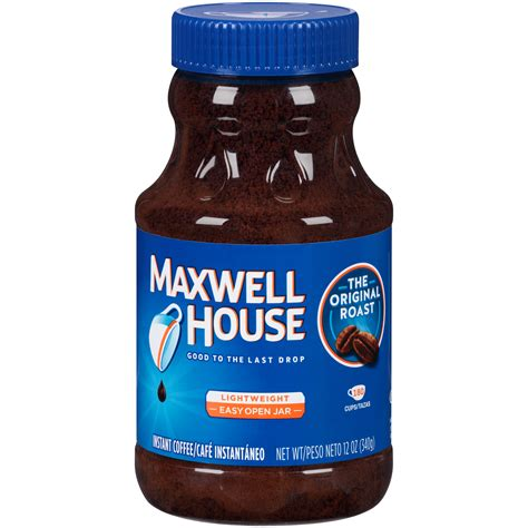 maxwell house instant coffee maxwell house coffee instant original 12 oz 340 g