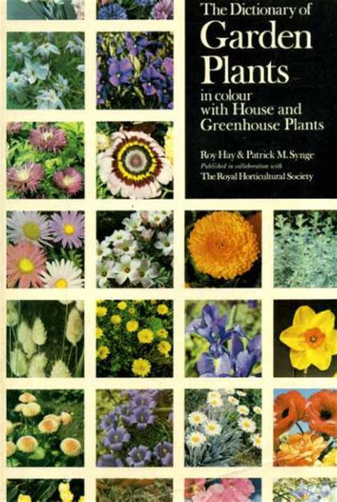 Garden Of Dictionary The Dictionary Of Garden Plants In Colour With House And