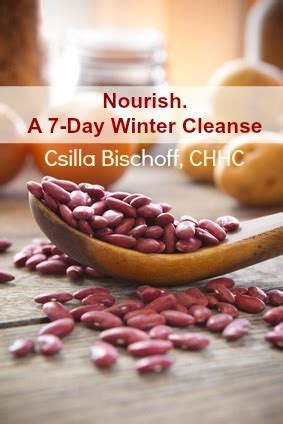 Detox Cleanse Nourish Book by Winter Cleanse